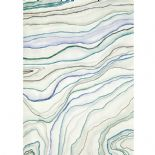 So Wall 2 Agate Bleu Wallpanel SWL 2743 66 39 or SWL27436639 By Casadeco